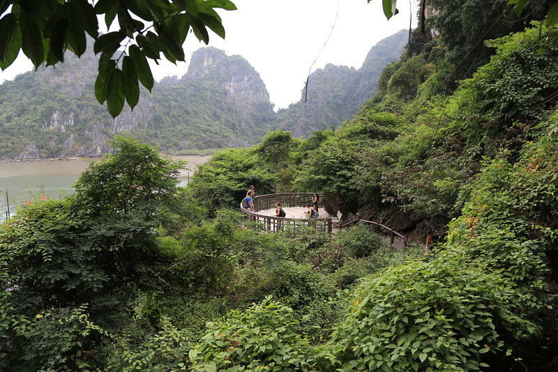 path from Dau Go  Cave(Thousand wooden stakes) Nov 2013