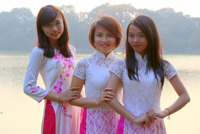Around Hoan Kien Lake, HaNoi, Vietnam Nov 2013