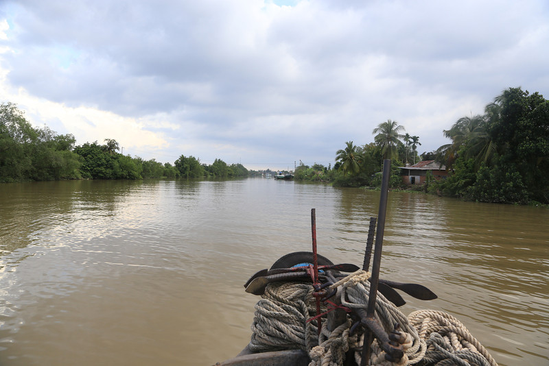 Mekong tributary near Cam Tho Nov 2013