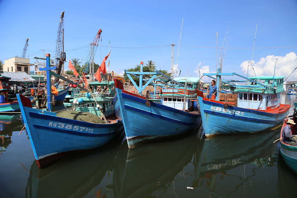 Duong Dong Town and harbor, Phu Quoc Island Nov 2013