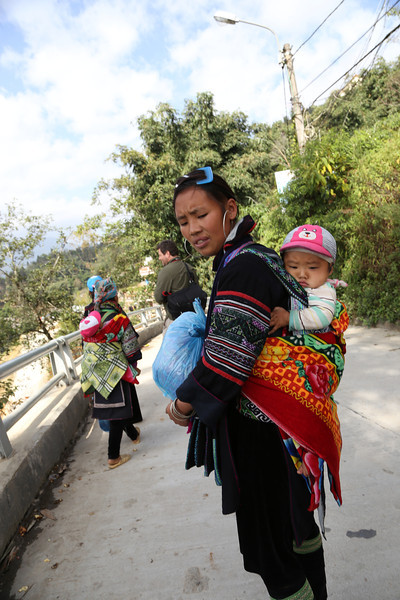 Hmong lady near Cat Cat Vilage Nov 2013