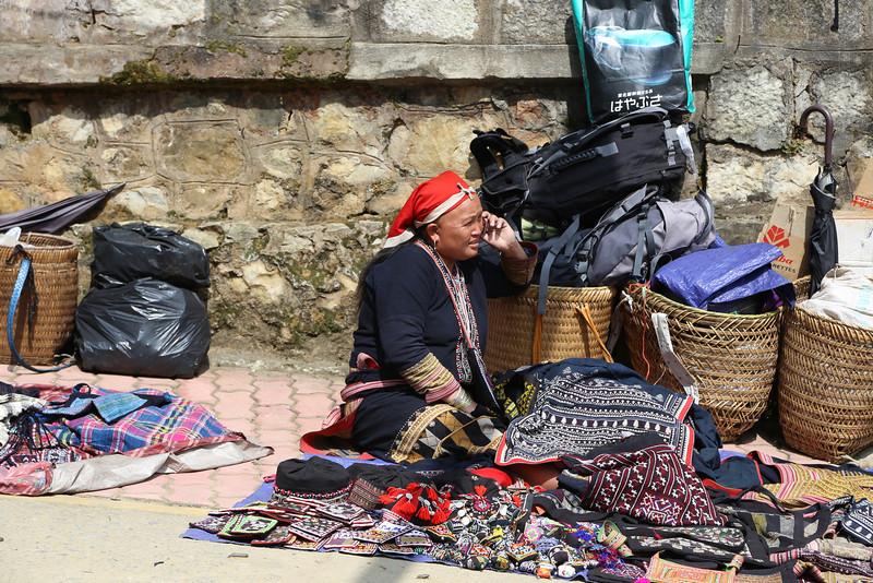 Hmong lady, SaPa Nov 2013