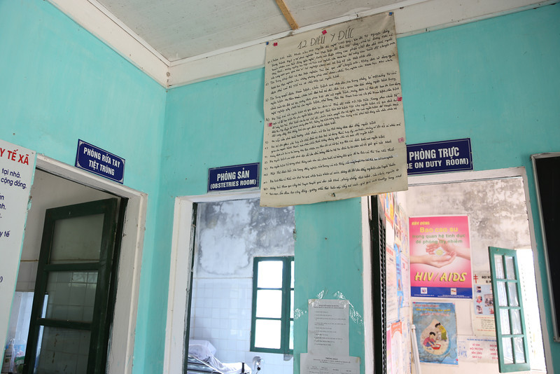 medical offices, Cat Cat  village Nov 2013