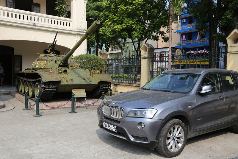 The reality of to-day is the old and new Vietnam, typified by the BMW. Nov 2013