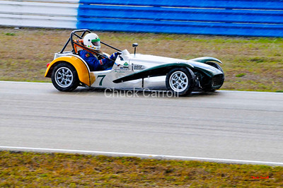 SVRA - Sebring 2009   --  (Sportscar Vintage Racing Association) Lotus Super 7, Paul Stinson