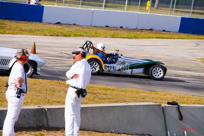 SVRA - Sebring 2009   --  (Sportscar Vintage Racing Association) Lotus Super 7, Paul Stinson