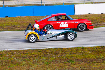 Lotus Super 7, Paul Stinson   Sports Car Vintage Racing Association -- SVRA   --  SEBRING Mobil 1 12 Hour 2009