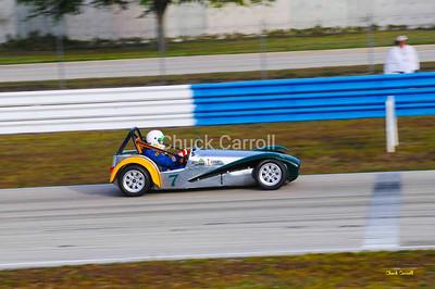 Lotus Super 7, Paul Stinson   --  SEBRING Mobil 1 12 Hour 2009