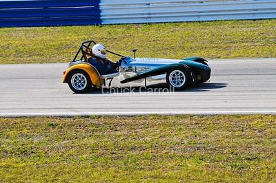 Mobil 1 12 hours of Sebring 2010   Lotus Super 7, Paul Stinson