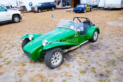 Lotus Super 7, Paul Stinson , Sportscar Vintage Racing Association  - SVRA  --  SEBRING Mobil 1 12 Hour 2009