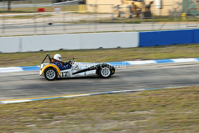 Mobil 1 12 hours of Sebring 2010 ,Lotus Suiper 7, # 17 Paul Stinson