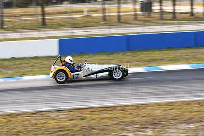Mobil 1 12 hours of Sebring 2010 ,Lotus Suiper 7. # 17 Paul Stinson