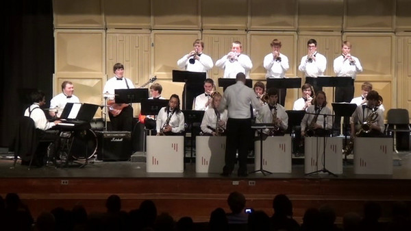 Southeast Guilford High School Jazz Band, March 10, 2011 Lean On Me...Bill Withers, Arr. John Wasson