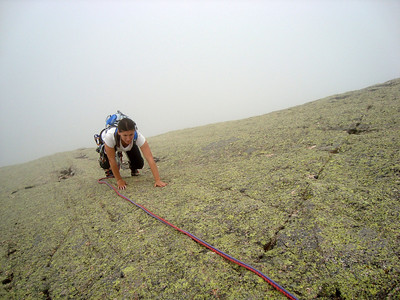 """Même si le haut est un tantinet moins soutenu que le bas, une fois """"acclimatés"""" au style d'escalade on courre !"""