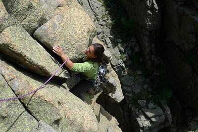 Le rocher est parfait, mais pas autant qu'à Chamonix ;-)