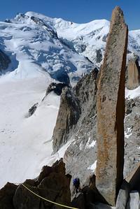 Nous esquivons la sortie Creton pour sortir au sommet du Pilastre... Aiguille du quoi déŽjˆà ?