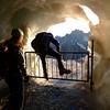 Le passage le plus difficile de la journŽe: accŽder au glacier !