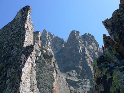 Dans une ambiance Aiguilles de Chamonix !
