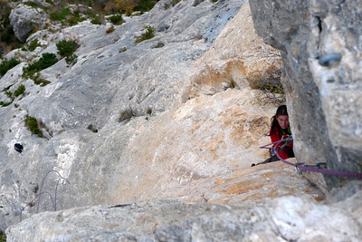 L'escalade est toujours très belle...