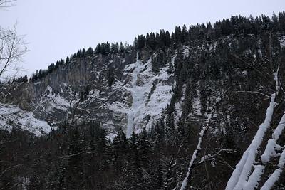 On traverse la piste de ski de fond puis on trace ou pas dans la forêt pendant une bonne heure....