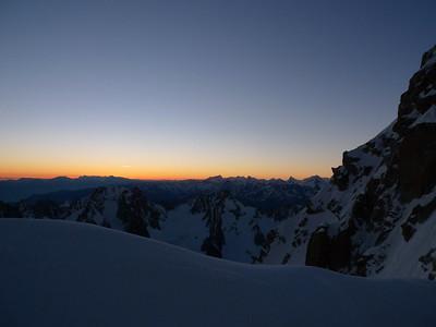 Sortie au Col... Le soleil arrive !