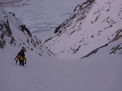 Le Couloir Whymper... Skiable !