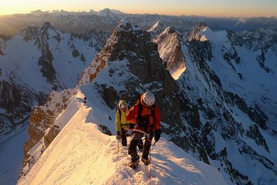 On voit tout le Valais Suisse, Le bassin d'Argentire, Talèfre...