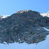 Aiguille du Midi, départ de l'Eperon Frendo