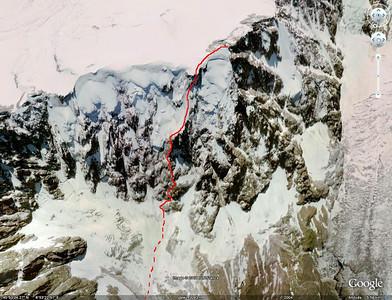Aiguille du Midi, Eperon Frendo