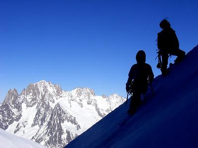 Retour aux ski avant de finir par la vallée blanche...
