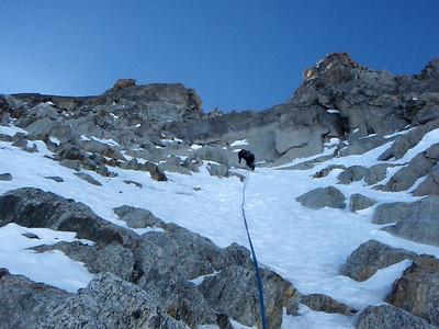 Presque 250m quand même, toujours facile mais suffisamment raides pour rester concentré...