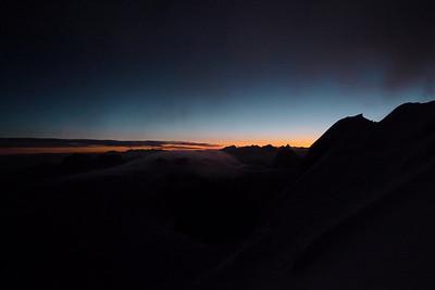 C'est aussi ça le Mt Blanc, on n'y va pas que pour marcher...