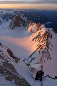 Ambiance haute montagne !