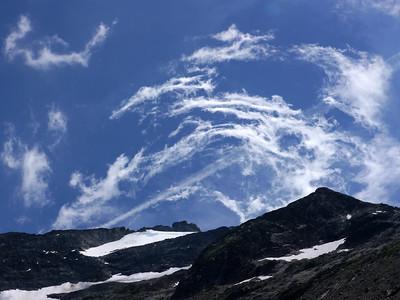 Eole joue avec les nuages...