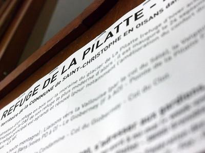 Le refuge de la Pilatte, enfin !