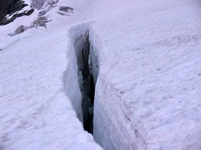 Glacier accueillant...