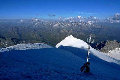 Nous venons du sommet Blanc...