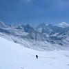 Mais le panorama est là, face à des montagnes magnifiques...