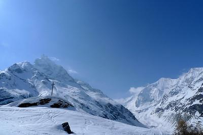 Ambiance magnifique après les chutes de neige...