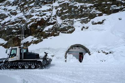 La sortie de la Jungfrau...
