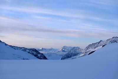 Vue sur le Valais, juste en face !