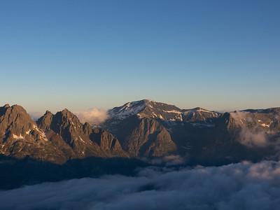 Le Buet, 3046m