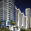Stock photo of highrise condominiums in Sunny Isles Beach FL