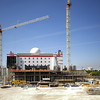 Construction site at Downtown Miami Florida USA