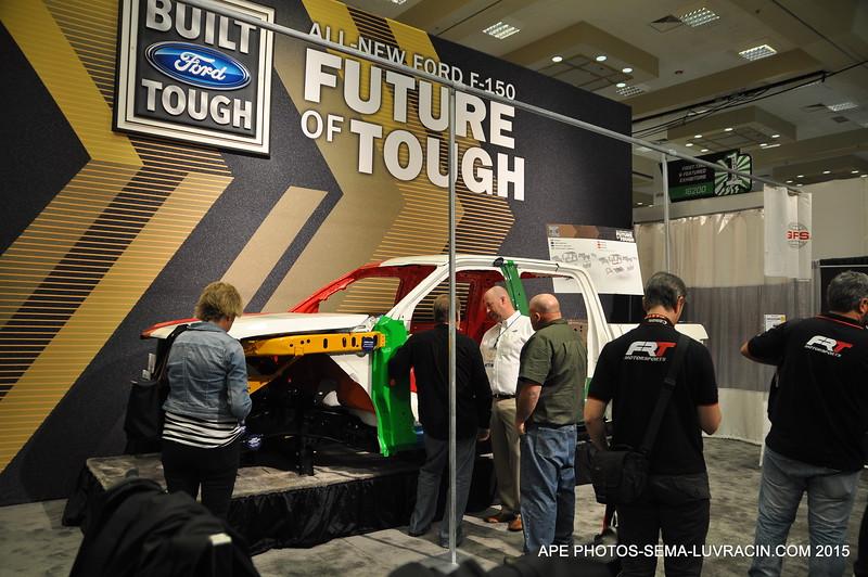 BUILT TOUGH, FUTURE OF TOUGH FORD F-150
