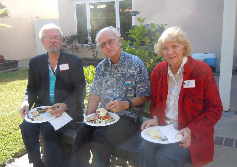 Seminarians Gathering at Cottons Home: Don Bruhn, Don and Jane Reiman