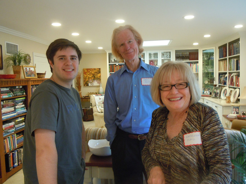 Seminarians Gathering at Cottons Home with Paul Cotton, Gerry Fallon  and Kathleen Platz