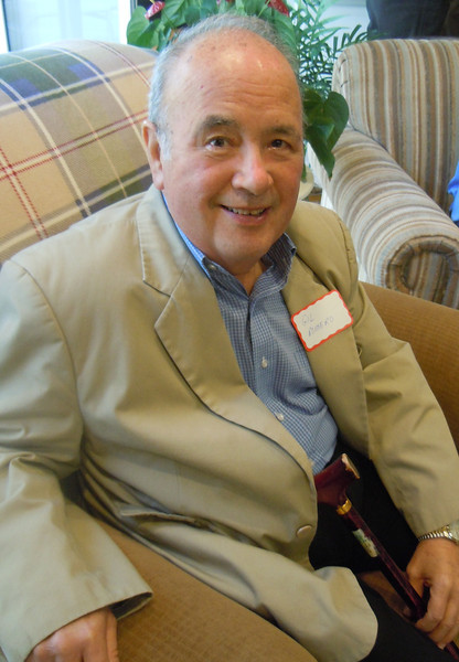 Luncheon for Sem Alumni at Tom & Betty Cotton's Home on 2/8/14:  Gil Romero
