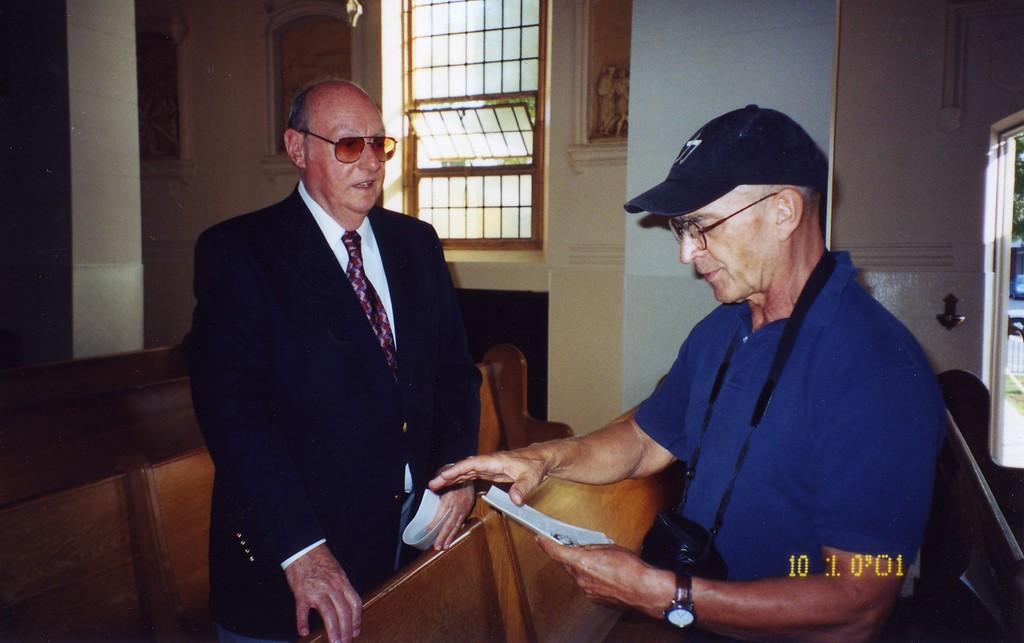 Bill Dubay 3rd and Detroit  Mass on October 2001