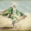 Seminole Woman Green Cape
